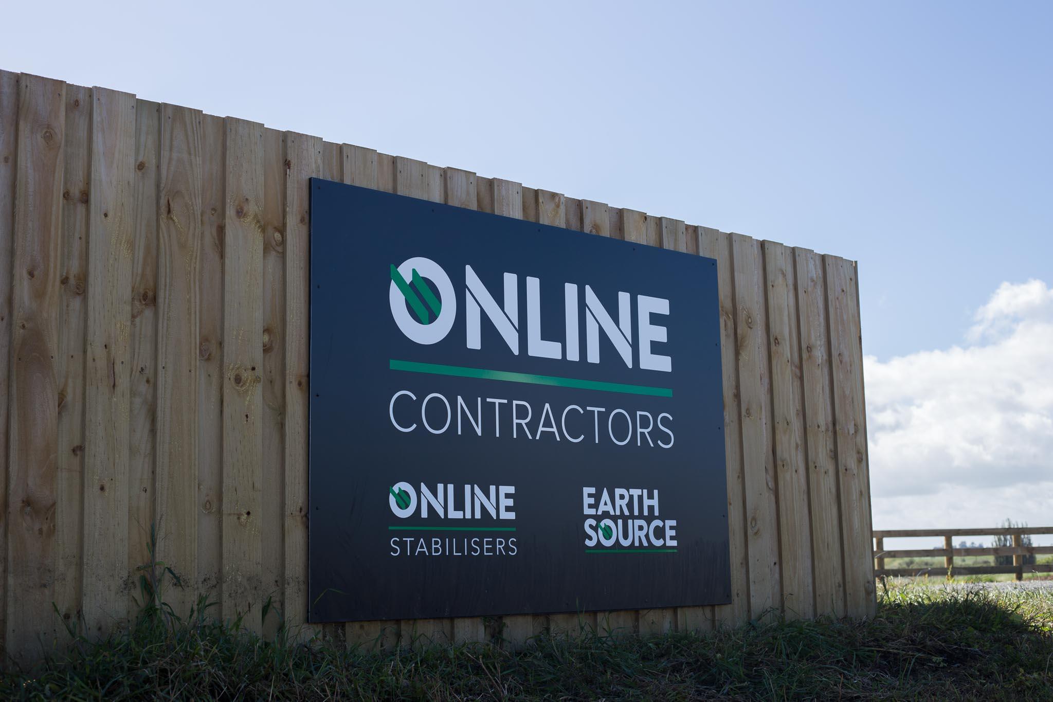 HGB Online Contractors brand development