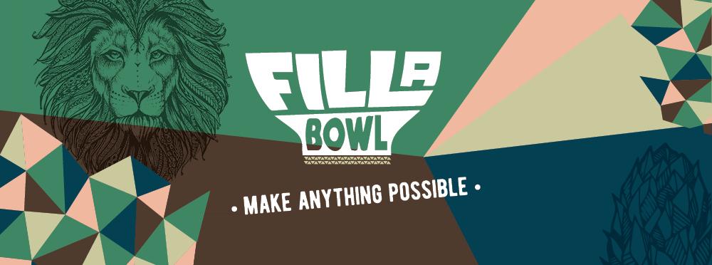 Interior brand design Fill a Bowl