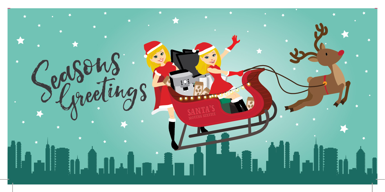 Christmas-marketing cards